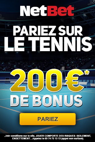 Comment parier sur le tennis