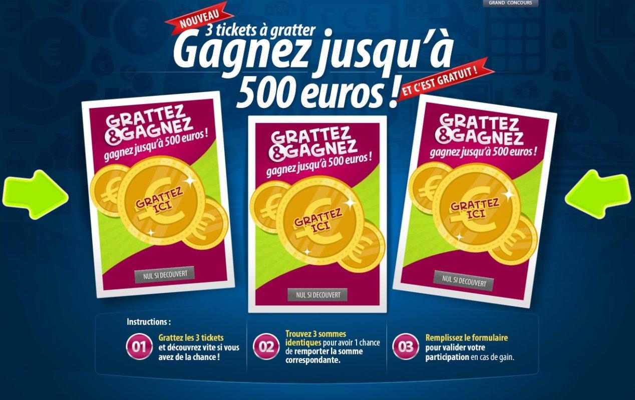 Gagnez jusqu'à 500 euros