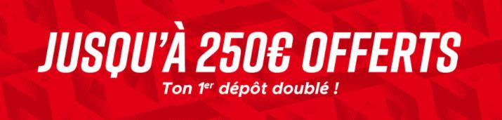 Betclic Turf BONUS de 250 € OFFERTS