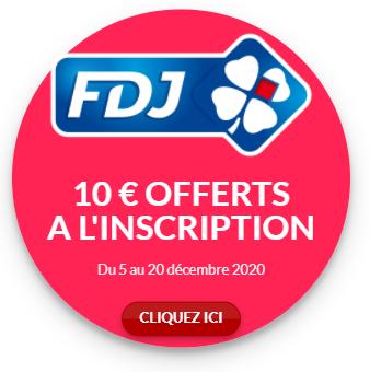 10 € OFFERTS FDJ