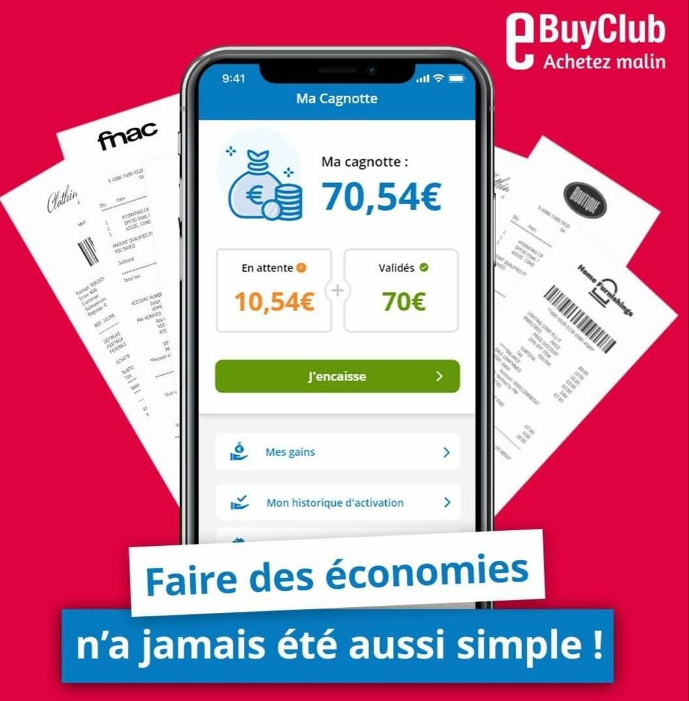 eBuyClub meilleur site de cashback